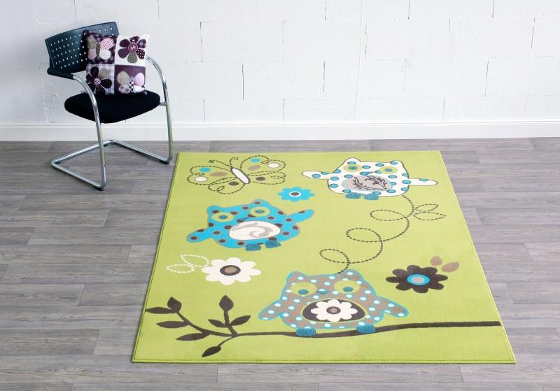 Kinderteppich eule grün  Kinderteppich Eule Grün | harzite.com