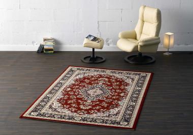 Robuster Perser Design Teppich Kashmir rot | 102031 – Bild 1