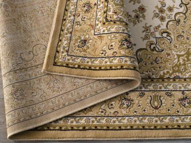 Robuster Perser Design Teppich Kashmir beige | 102033 – Bild 2