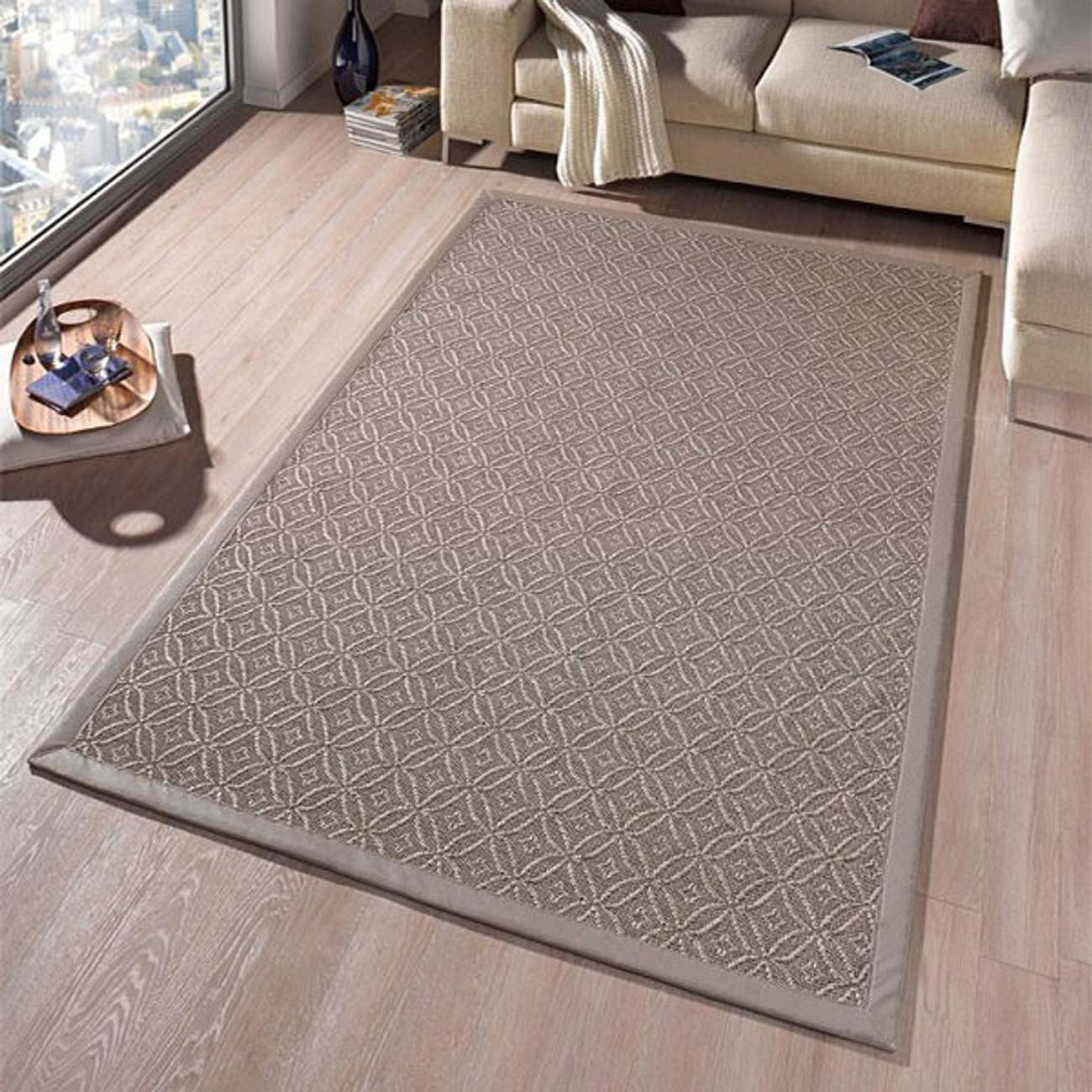 Excellent Design Flachgewebe Teppich Infinite Ornament Grau Taupe With  Teppich Gewebt With Teppich Flach Gewebt Grau.