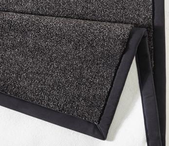 Design Teppich Kingdom mit Bordüre Melange-Effekt Schwarz Grau | 102269 – Bild 2