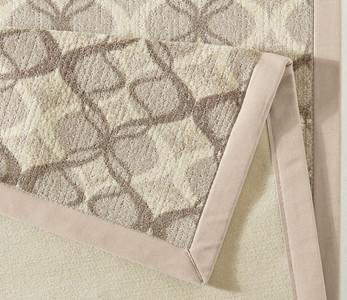 Exklusiver Design Teppich Vertigo Beige Braun | 102275 – Bild 4