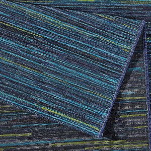 Design Outdoorteppich Lotus Blau melliert | 102444 – Bild 3