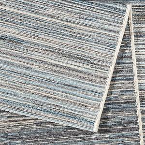 Design Outdoorteppich Lotus Hellgrau Blau melliert | 102445 – Bild 5