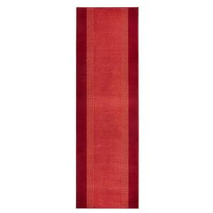 Designer Velours Läufer Band Rot  – Bild 4