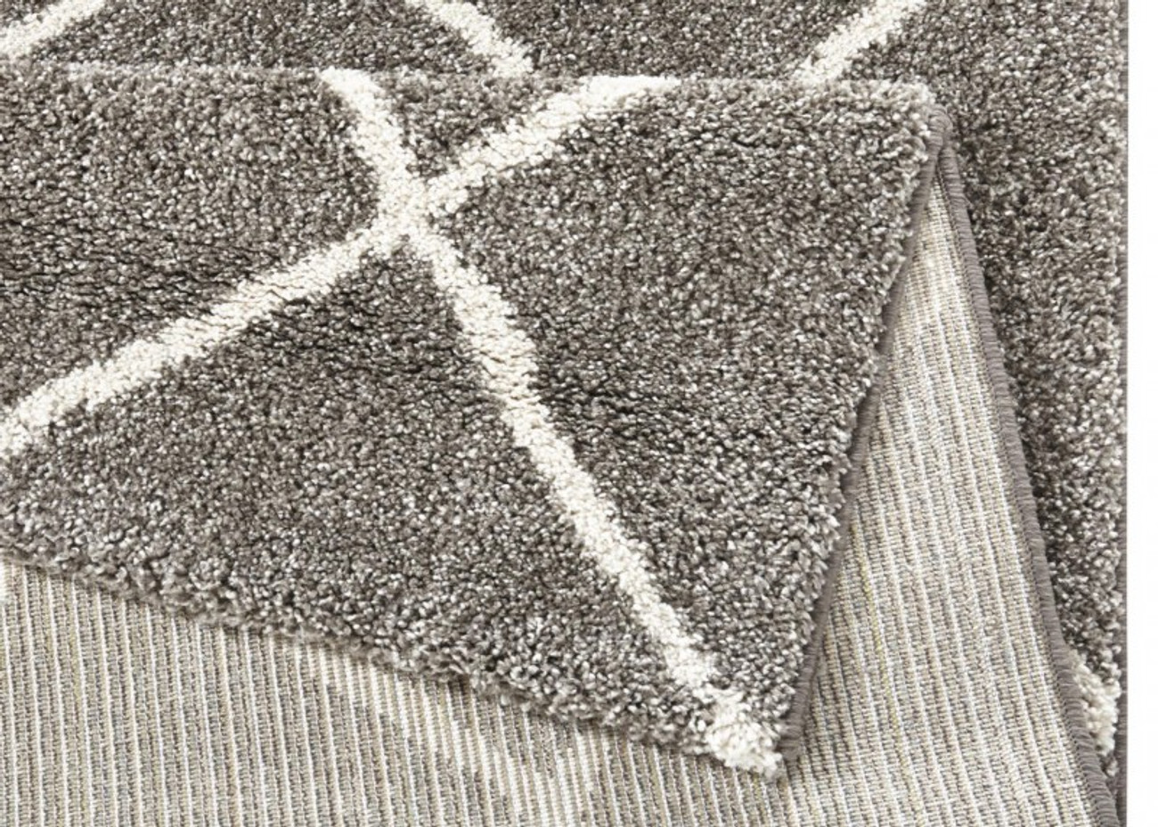 design hochflor teppich diva taupe teppiche design teppiche. Black Bedroom Furniture Sets. Home Design Ideas