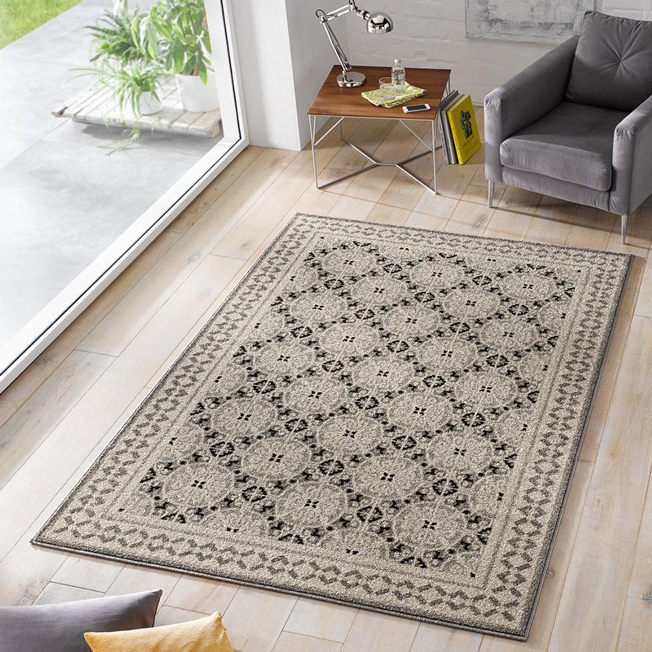 design velours teppich marble grau taupe schwarz teppiche. Black Bedroom Furniture Sets. Home Design Ideas