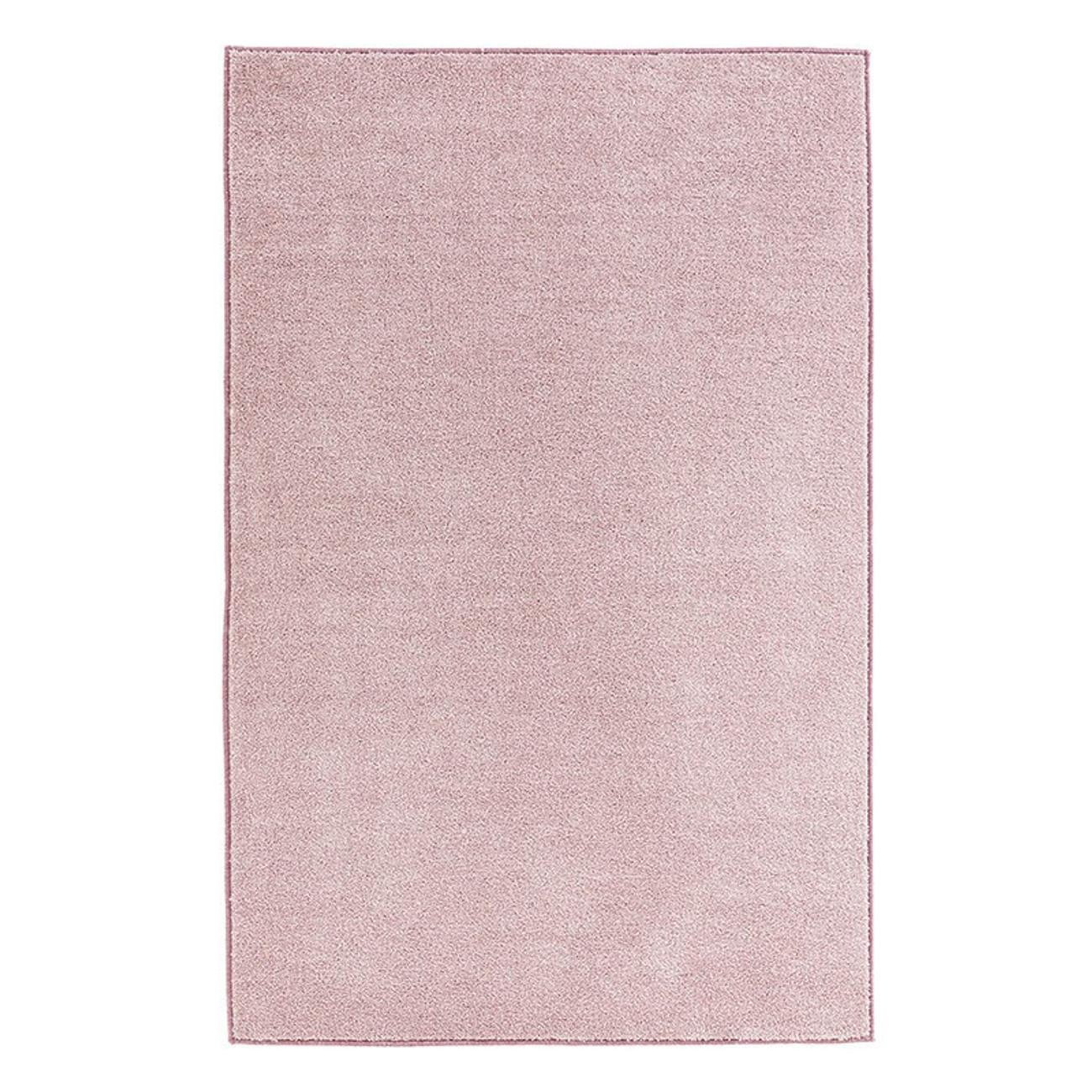 kr uselvelours teppich pure uni rosa teppiche kurzflor teppiche. Black Bedroom Furniture Sets. Home Design Ideas