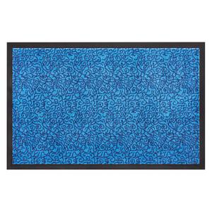 Schmutzfangmatte Fußmatte Türmatte Bodenmatte Smart blau