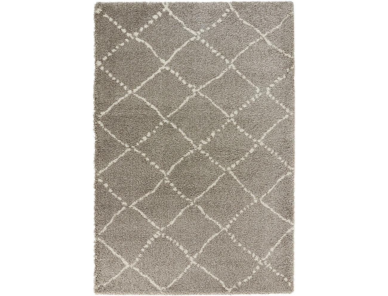 design velours teppich hochflor hash grau creme teppiche hochflor teppiche. Black Bedroom Furniture Sets. Home Design Ideas