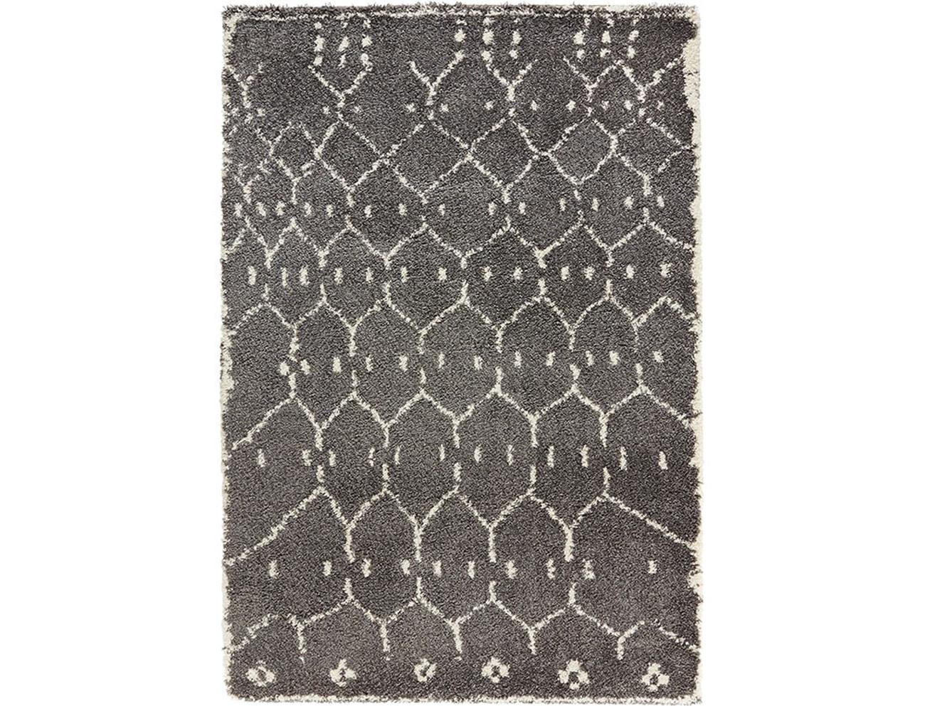 design velours teppich hochflor frame grau teppiche hochflor teppiche. Black Bedroom Furniture Sets. Home Design Ideas