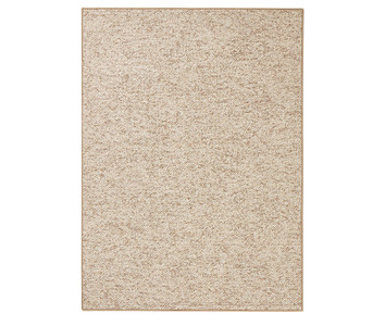 Design Teppich Wolly in Woll-Optik Beige Braun – Bild 8