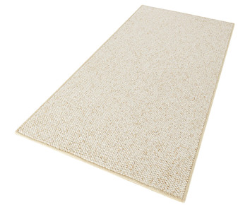 Design Teppich Wolly in Woll-Optik Creme  – Bild 2