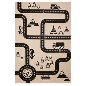 Kinderteppich Spielteppich Road Map Charly 120x170 cm  Teppich Kinderzimmer – Bild 2