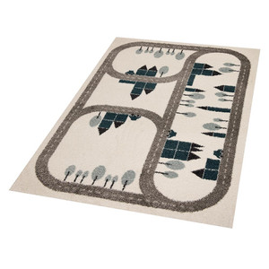 Kinderteppich Spieleteppich Country Road 120x170 cm