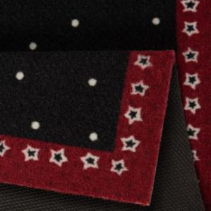 Fußmatte Schmutzfangmatte Christmas Teddybear Rot Schwarz 45x75 cm