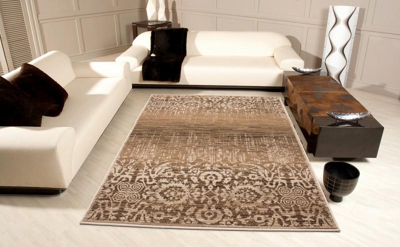 Designer teppich  Moderner Designer Teppich USA - San Francisco Karamell mit ...