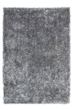 Hochflor Teppich Shaggy Diamond 700 Grau mit Glitzer Effekt
