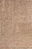 Designer Hochflor Shaggy Teppich Laos - Pakse Sand Handgewebt 001