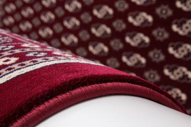 Orientalischer Designer Teppich Tunisia Kelibia Rot – Bild 3