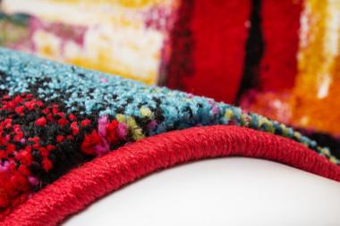 Moderner Designer Teppich Inspiration Splash 391 Multi – Bild 3
