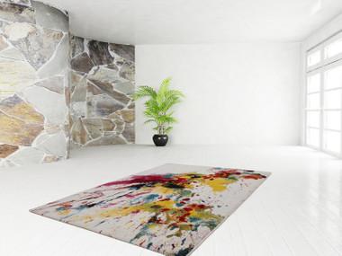 Moderner Designer Teppich Inspiration Splash 392 Multi – Bild 2