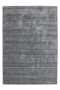 Moderner Designer Teppich Lana 590 Silber Streifen Optik – Bild 1