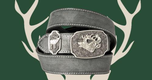 Bavarian costume belts