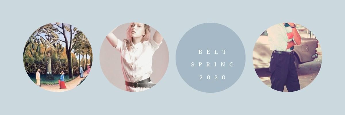 Fronhofer Belts Spring Summer 2020