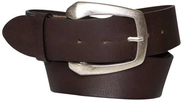 RUGBY: Big Buckle genuine Leather belt 1.57 inch wide & plus sizes