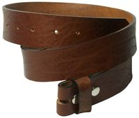 FRONHOFER snap on belt 1.57   (4cm) | strong genuine leather | organic leather