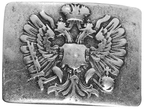 FRONHOFER | Koppelschnalle | unisex | Motivgürtelschnalle | Military und Tracht | für 4cm Gürtelriemen | altsilber | 17711