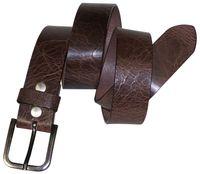 HUGO Premium men's belt, genuine leather belt, minimalist buckle, 1.5 /4cm