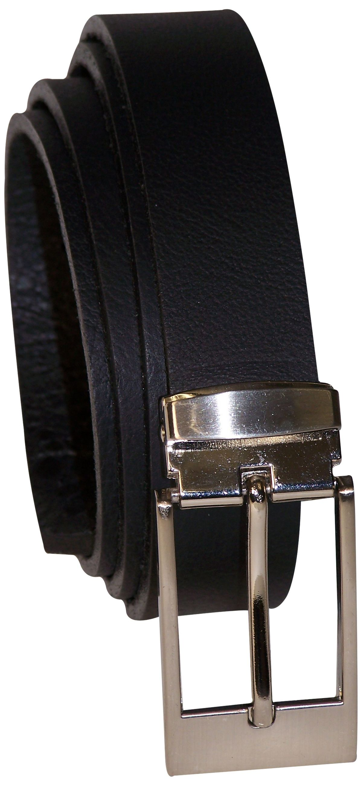 b.belt Gürtel Belt Damen Leder 100 cm schwarz