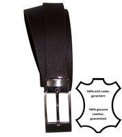 LEON Classic men's belt, matte silver, dress belt, silver buckle, can be cut to length, 1.2 /3cm