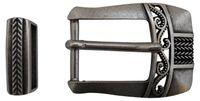 Fronhofer side-bar buckles, pin buckles, belt buckles