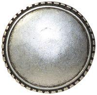 FRONHOFER Round antique silver belt buckle for women, circular buckle for 1.5 /4cm belts