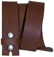 FRONHOFER Interchangeable belt made of genuine buffalo leather, 1.5 /4cm