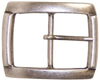FRONHOFER Classic silver belt buckle, side bar buckle, interchangeable pin buckle 1.8 /4.5 cm
