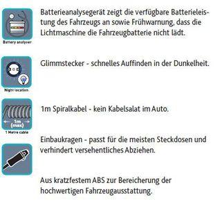 Mikro USB-Doppelsteckdose in Dosenform 12V Multilader von Ring Automotive RMS13 – Bild 5