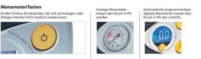 Automatischer digitaler Luft-Kompressor 12V RAC630 – Bild 7