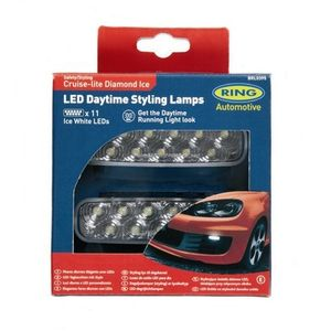 Cruise-lite Diamond Ice LED Tag-Stylingleuchten von Ring Automotive - je 11 LEDs BRL0395 – Bild 1