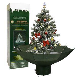Weihnachtsbaum Schneefall - selbstschneiender Christbaum, grün - 75 cm