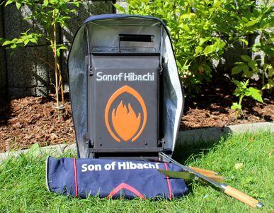 Son of Hibachi® klappbarer Holzkohlegrill Modell 2017 - jetzt mit verbesserter Bedienungsanleitung – Bild 12