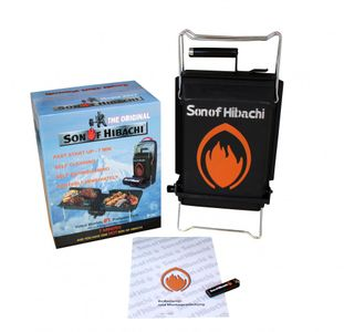 Son of Hibachi® klappbarer Holzkohlegrill neuestes Modell 2020 - der Testsieger – Bild 3