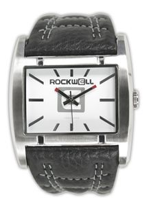 Rockwell Apostle Black Leather/ White AP101 Armbanduhr