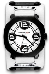 Rockwell Assassin White Leather/ White AS104 Armbanduhr