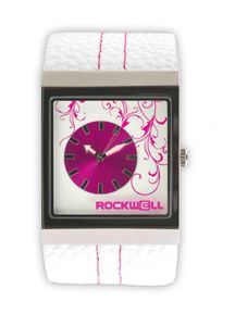 Rockwell Mercedes White Leather/ Pink MC101 Damenarmbanduhr – Bild 1