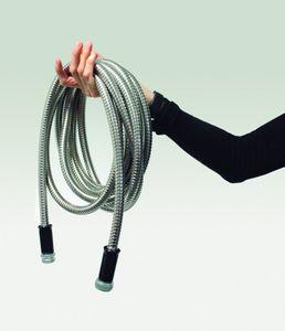 Steel Hose Flexibler, dehnbarer Gartenschlauch aus Edelstahl, 15,24 m – Bild 3