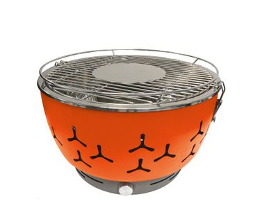 Go BBQ Cool Touch Pro Tragbarer Holzkohlegrill Tischgrill
